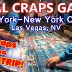 LIVE Craps Game #12 – New York-New York Casino, Las Vegas, NV – Inside the Casino