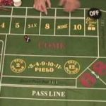 Combinations of Numbers Rolled on Casino Craps (Dice)