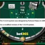 1-3-2-4 gambling system – Fortune Palace's Baccarat / Roulette system in action