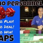 Professional Craps Training for Beginners [Step 3 of 33] – Craps Dealer Personnel