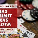 Poker Training: 6max No-Limit Texas Holdem Ep. 40 by Brad Wilson