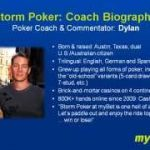 """6 Max Cash Game Poker Coaching, Advanced No-Limit Texas Holdem Strategies for """"Speed Poker"""": 6MAX 01"""