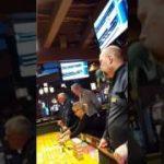 Live casino craps action # 4.