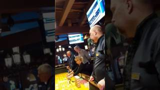 Live casino craps action # 4.