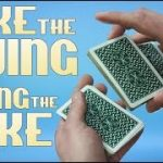 Cheat at cards, poker or gambling with the false Swing Cut! | How to do card magic tricks revealed!