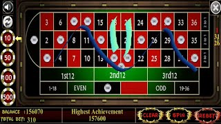 M-betting strategy to roulette.