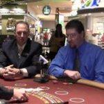 Times Leader / Mohegan Sun table games demo – Blackjack