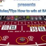 Baccarat Rules How to play + Tips / Strategy how to win at Baccarat at Casino