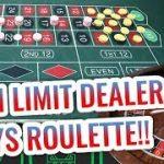LIVE ROULETTE with High Limit Casino Dealer | David Vs. Rocky Roulette
