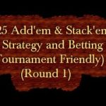 $25 Add'em & Stack'em Craps Strategy and Betting video