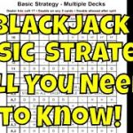 The Blackjack Basic Strategy Card – Why You Need It and How To Use it
