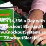 Win $4,536 a Day with Knockout Blackjack!