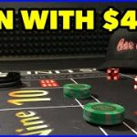 Win at $15 Craps Table with Small Bankroll