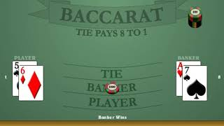 Easy Way Baccarat + Best Baccarat Betting System For Fast Profits + Bellagio, High Limit!