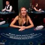Peter Ness plays blackjack