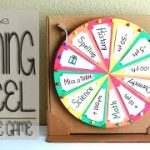 THE ROULETTE GAME_How to make a spinning wheel out of cardboard | Edu Props