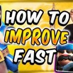 TOP 7 PRO TIPS! How To Improve FAST In Clash Royale!