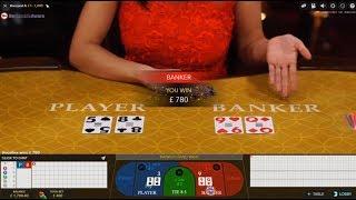 1K Start Live Casino Baccarat Big Bets Sesh