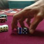 Craps HALF 7 set 2 Finger Corner 4 points Fire