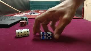 Craps HALF 7 set 2 Finger Corner 4 points Fire