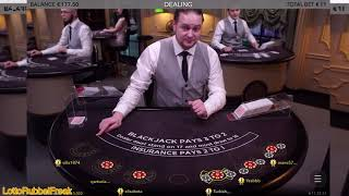 A very nice Blackjack Session with Big Wins 👑👑🤩