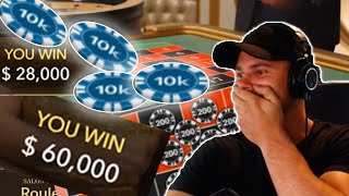 MASSIVE Online Blackjack and Roulette win!
