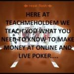How to play texas holdem poker learn the best way