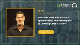 How Colin Jones Built Blackjack Apprenticeship After Winning $4M by Counting Cards at Casinos