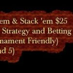 Add 'em & Stack 'em $25 Craps Strategy and Betting video (Round 5)