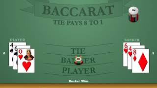 *NEW* Trifecta Easy Way Baccarat Betting System + Banker Bets, Chop, Mirror Method + Win 10% per HR!