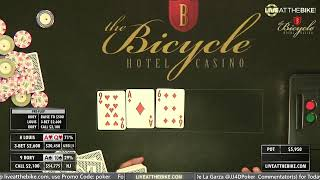 Maria Ho Plays High Stakes $50/100/100 NLH! – Live at the Bike!