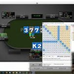 Bluffing too much on dry board SB vs BB – Tournament Poker Strategy