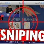 Baccarat – Sniping my way UP ! 1000$ profit – ONE DAY
