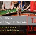 Roulette strategy to win, Column Bets Target Setting and bank roll management