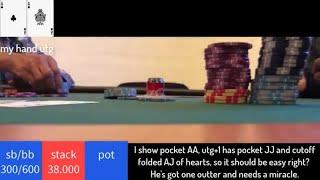 Poker Vlog 20. Tournament poker. Learn poker. Mihael Korica.