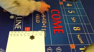 Craps System Stearn Method Requested Color Up With this Strategy ?