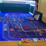 Live craps table rolling 7s Iron cross betting part 1
