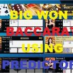 SOFTWARE BACCARAT PREDICTOR : BIG WON !!! MORE THAN 600% PROFIT