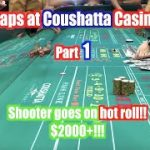 Real Craps Game at Coushatta Casino in Kinder, Louisiana. Part 1