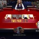 ZYNGA POKER – JJ VS AK & QK VS Q4  – Watch Until End