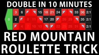Red Mountain Roulette Strategy – Amazing Win