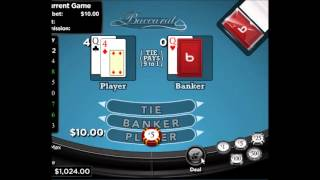 The Best Baccarat Strategy for 2013 – Win at Baccarat