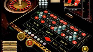 """Roulette strategy by playing """"3 corners"""" and """"12 straight up"""" bets."""