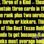 Learn The Best Texas Holdem Hands – Don't Be A Stupid