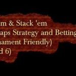 Add 'em & Stack 'em $25 Craps Strategy and Betting video (Round 6)