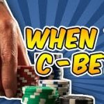 When and How Much to Continuation Bet – Now You Know How The Best Poker Players Do It!