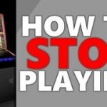 How to stop playing on slot fruit machines and roulette machines FOBT