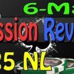 Texas Holdem Poker Online – Session Review 25nl 6 Max Cash Hold em – Online Poker Coaching Bovada