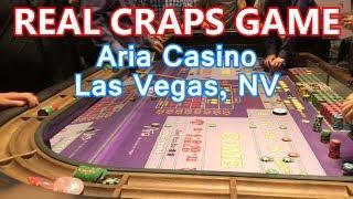 LIVE Craps Game #11 – $25 MINIMUM – Aria Casino, Las Vegas, NV – Inside the Casino