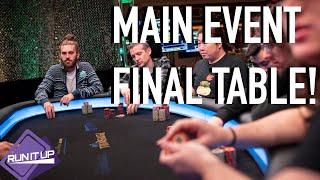 RUN IT UP RENO MAIN EVENT RUN – Thirst Lounge Poker